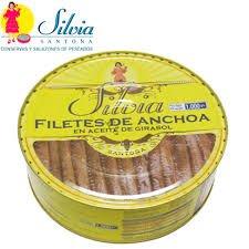 anchoas Silvia